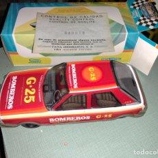 Juguetes antiguos Payá: COCHE BOMBEROS PAYA EN CAJA 1960. Lote 121294335