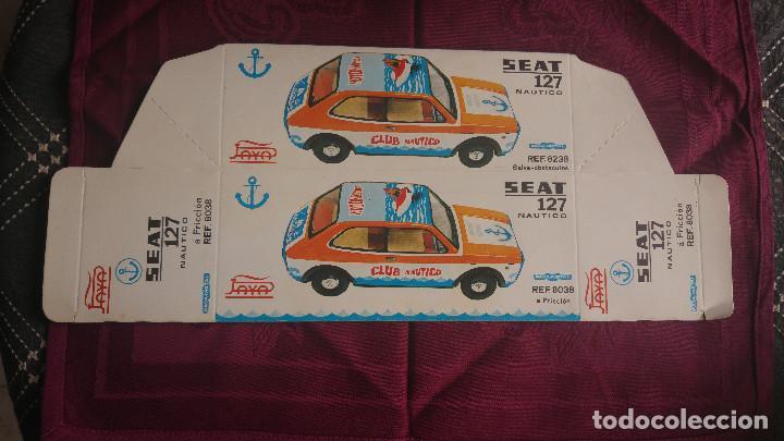 CAJA VACIA COCHE SEAT 127 NAUTICO A FRICCION REF. 8038. PAYÁ (Juguetes - Marcas Clásicas - Payá)