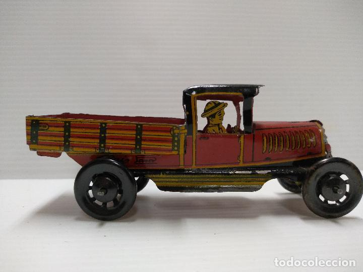 Juguetes antiguos Payá: Camioneta hojalata Payá Rai año 1923 - Foto 2 - 127775495