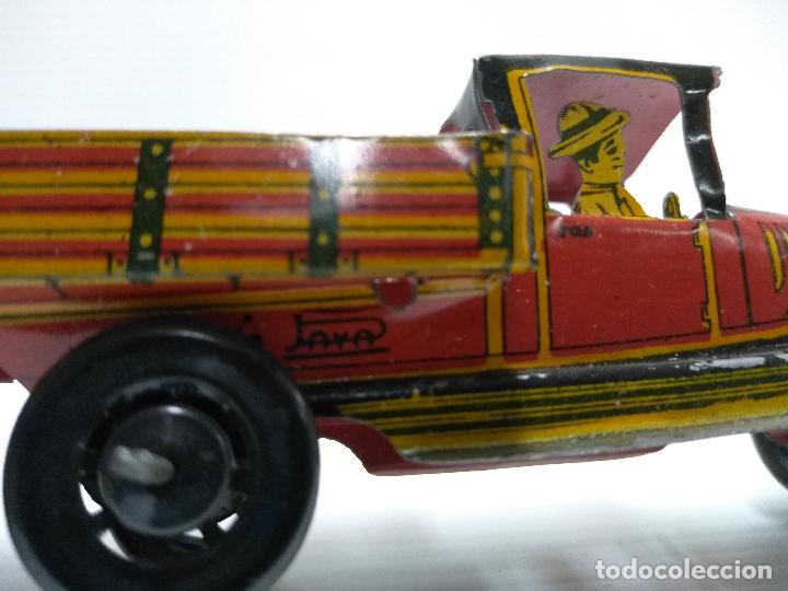 Juguetes antiguos Payá: Camioneta hojalata Payá Rai año 1923 - Foto 3 - 127775495