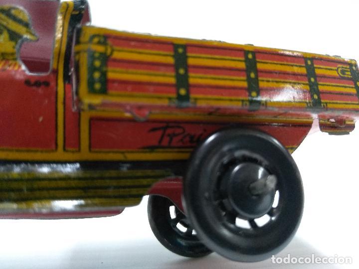 Juguetes antiguos Payá: Camioneta hojalata Payá Rai año 1923 - Foto 4 - 127775495
