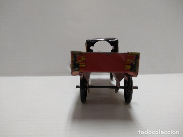 Juguetes antiguos Payá: Camioneta hojalata Payá Rai año 1923 - Foto 6 - 127775495