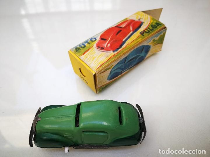 AUTO PULGA PAYA EN CAJA (Juguetes - Marcas Clásicas - Payá)