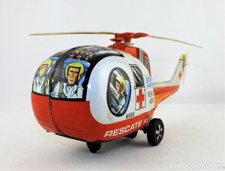 Juguetes antiguos Payá: Paya. Helicóptero rescate aéreo - Foto 2 - 128222191