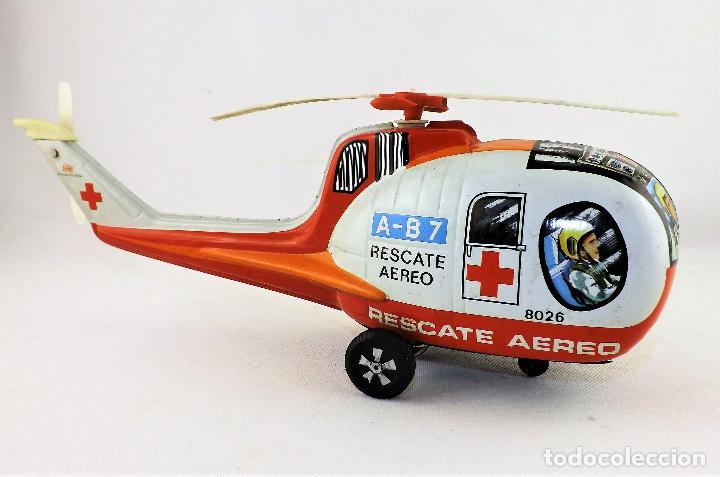 Juguetes antiguos Payá: Paya. Helicóptero rescate aéreo - Foto 4 - 128222191