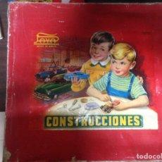 Juguetes antiguos Payá: ANTIGUA CAJA CONSTRUCCIONES COCHE PAYA. LEER ATENTAMENTE. Lote 128414767