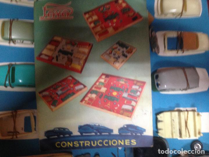 Juguetes antiguos Payá: ANTIGUA CAJA CONSTRUCCIONES COCHE PAYA. LEER ATENTAMENTE - Foto 5 - 128414767