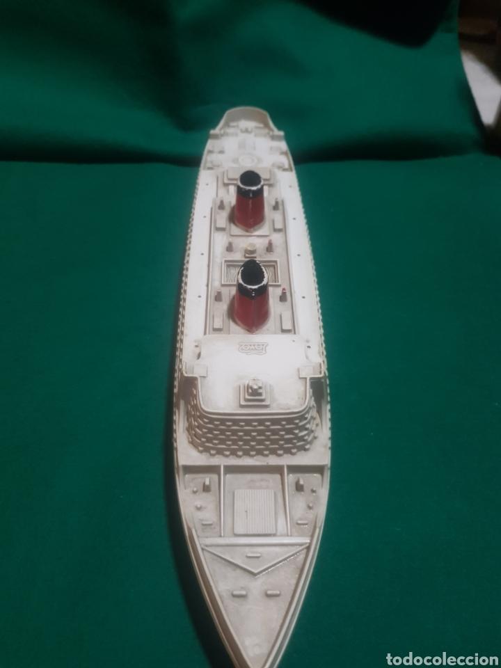 Juguetes antiguos Payá: Antiguo Barco transatlántico marca paya - Foto 2 - 128651331