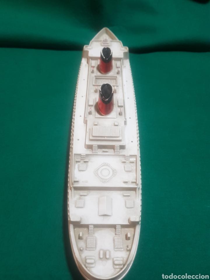 Juguetes antiguos Payá: Antiguo Barco transatlántico marca paya - Foto 3 - 128651331