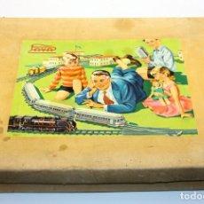 Altes Spielzeug Payá - ANTIGUO TREN DE HOJALATA A CUERDA PAYA - EN SU CAJA ORIGINAL - 129374355
