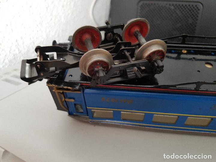 Juguetes antiguos Payá: jugete de paya vagon coche cama tren paya en 1372 Madrid - Alicante - Foto 2 - 129516059