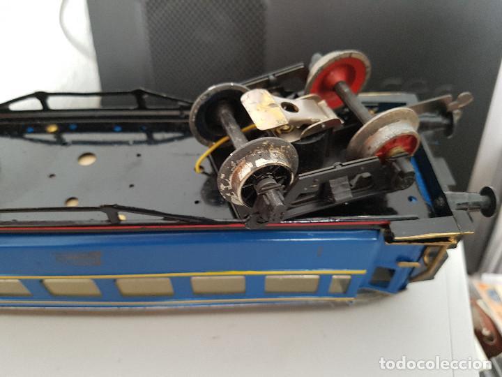 Juguetes antiguos Payá: jugete de paya vagon coche cama tren paya en 1372 Madrid - Alicante - Foto 3 - 129516059