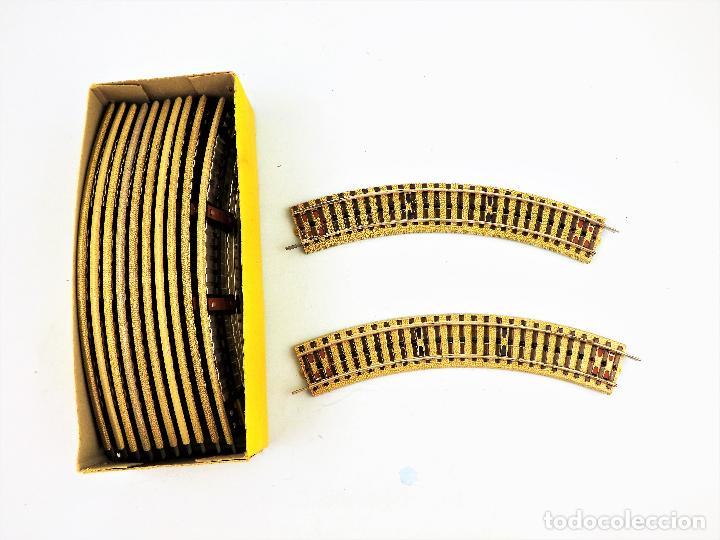 Juguetes antiguos Payá: Paya Vías curvas H0 Caja con 12 unidades - Foto 3 - 130172799