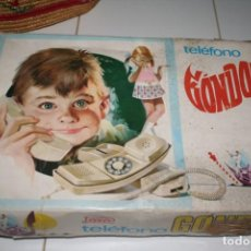 Juguetes antiguos Payá: TELEFONO GONDOLAS PAYA EN CAJA AÑOS 70. Lote 130358710