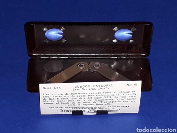 Juguetes antiguos Payá: Visor Estereoscopo Estereoscopio + 3 sobres con vistas + 2 hojas, Rai Paya, años 40. Con caja. - Foto 8 - 131204096