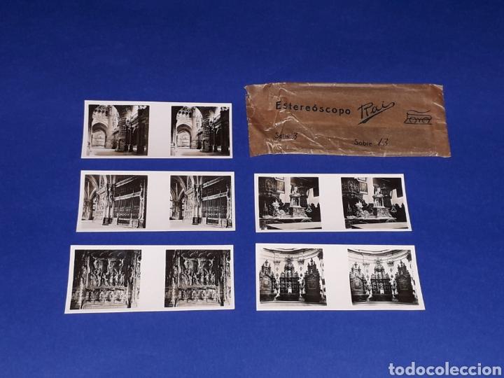 Juguetes antiguos Payá: Visor Estereoscopo Estereoscopio + 3 sobres con vistas + 2 hojas, Rai Paya, años 40. Con caja. - Foto 11 - 131204096
