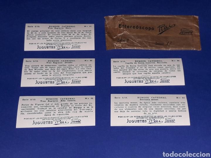 Juguetes antiguos Payá: Visor Estereoscopo Estereoscopio + 3 sobres con vistas + 2 hojas, Rai Paya, años 40. Con caja. - Foto 12 - 131204096