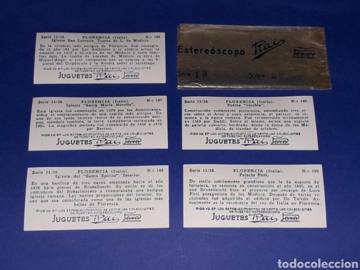 Juguetes antiguos Payá: Visor Estereoscopo Estereoscopio + 3 sobres con vistas + 2 hojas, Rai Paya, años 40. Con caja. - Foto 14 - 131204096