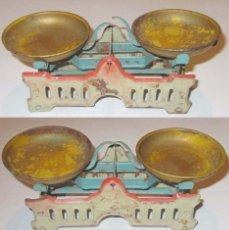 Juguetes antiguos Payá: PAYA-RICO BASCULA HOJALATA LITOGRAFIADA EN BUEN ESTADO. Lote 133539466