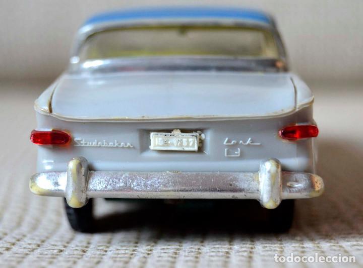 Juguetes antiguos Payá: Coche Payá Studebaker Lark. Mecanismo fricción. 1960 aprox. - Foto 5 - 134825158