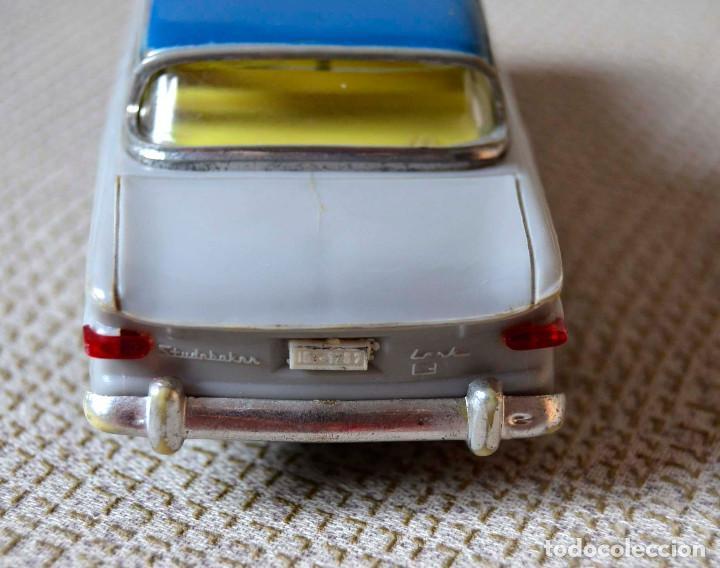 Juguetes antiguos Payá: Coche Payá Studebaker Lark. Mecanismo fricción. 1960 aprox. - Foto 7 - 134825158