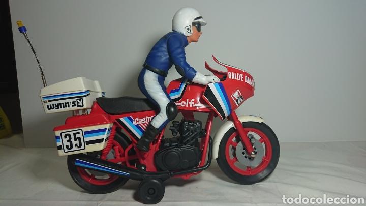 ANTIGUA MOTO PAYA? RALLY DAKAR AÑOS 80 (Juguetes - Marcas Clásicas - Payá)