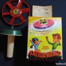 Juguetes antiguos Payá: PRECIOSO JUGUETE PLATILLO VOLANTE DE PAYA. NUEVO EN CAJA ORIGINAL. Lote 135993446