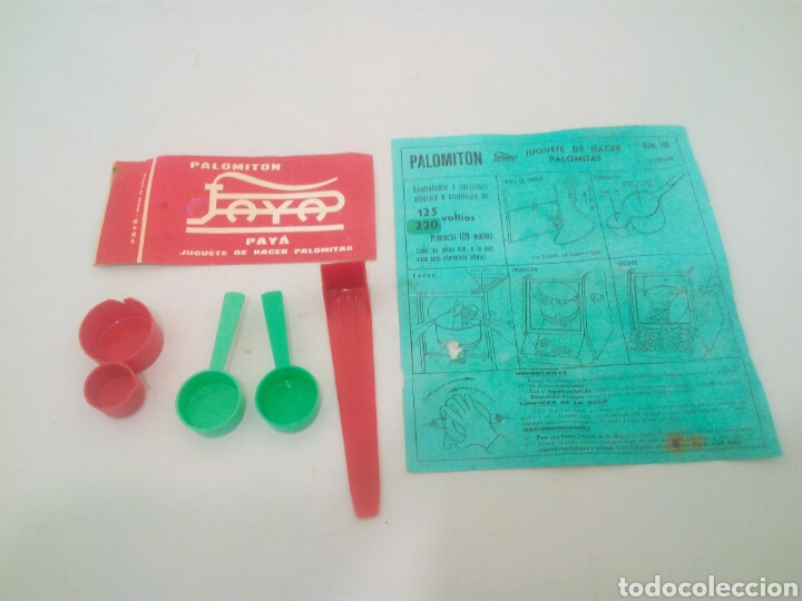 Juguetes antiguos Payá: Paya palomiton años 60 - Foto 5 - 137430318