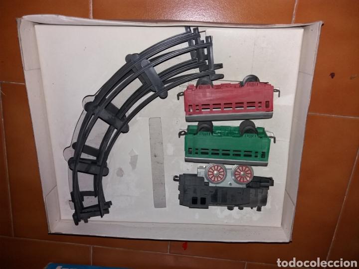 Juguetes antiguos Payá: paya ferrocarril mecanico ref 839 - Foto 2 - 137851314