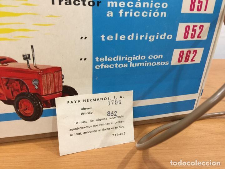 Juguetes antiguos Payá: PAYA TRACTOR 862 ELECTRICO CON EFECTOS LUMINOSOS - Foto 3 - 139137850