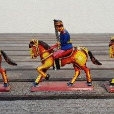 Juguetes antiguos Payá: ANTIGUOS SOLDADOS A CABALLO DE LA MARCA PAYA DE LA COOPERATIVA AÑOS 70 REF. Nº 0152. Lote 139319094