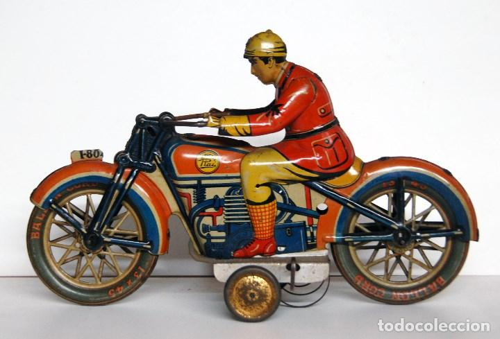 PAYÁ Nº 804 ORIGINAL - MOTOCICLETA (Juguetes - Marcas Clásicas - Payá)