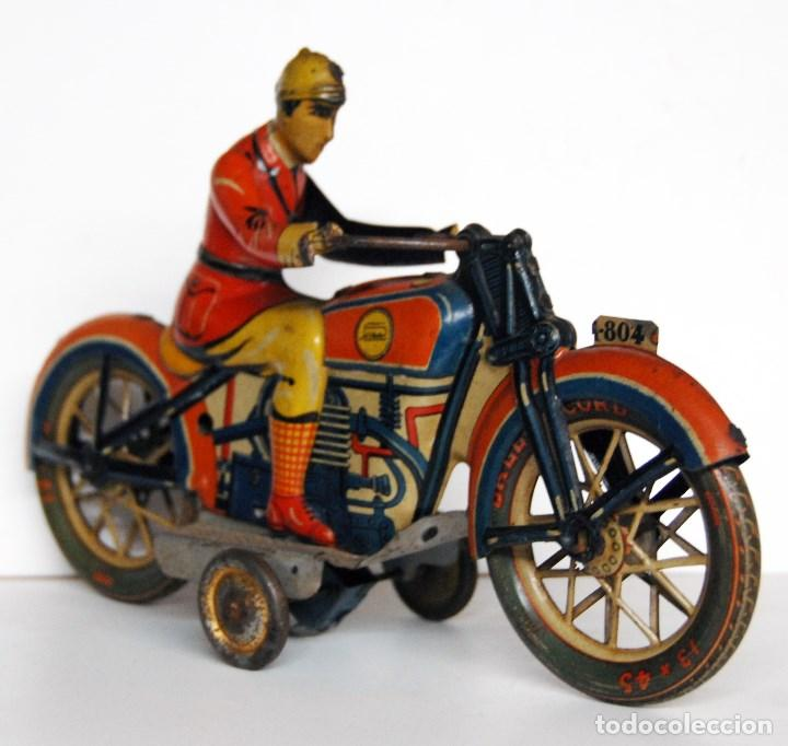 Juguetes antiguos Payá: PAYÁ Nº 804 ORIGINAL - MOTOCICLETA - Foto 3 - 140483506