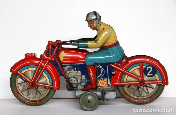 PAYÁ Nº 804 ORIGINAL - MOTOCICLETA DE CARRERAS (Juguetes - Marcas Clásicas - Payá)
