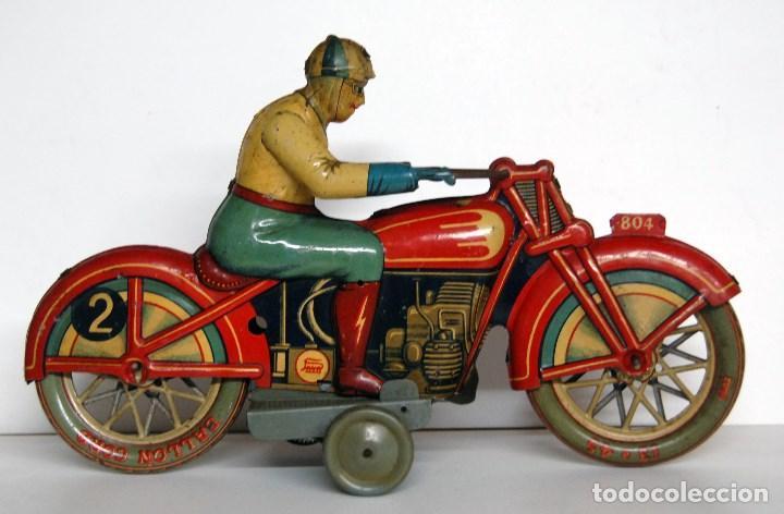 Juguetes antiguos Payá: PAYÁ Nº 804 ORIGINAL - MOTOCICLETA DE CARRERAS - Foto 2 - 140483722