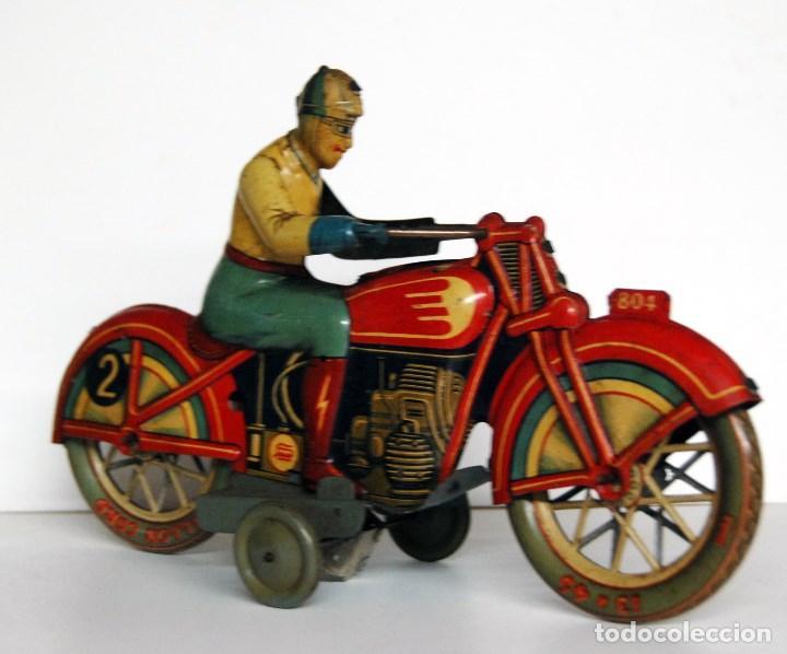 Juguetes antiguos Payá: PAYÁ Nº 804 ORIGINAL - MOTOCICLETA DE CARRERAS - Foto 3 - 140483722