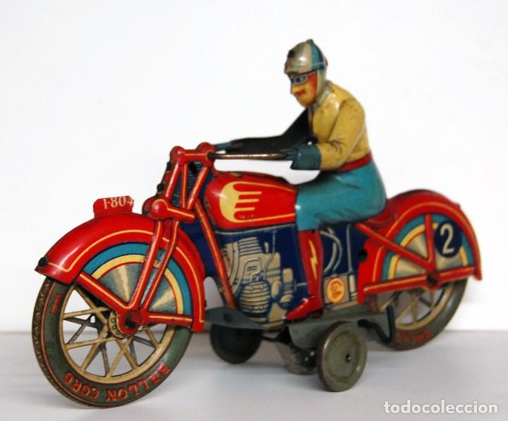 Juguetes antiguos Payá: PAYÁ Nº 804 ORIGINAL - MOTOCICLETA DE CARRERAS - Foto 4 - 140483722