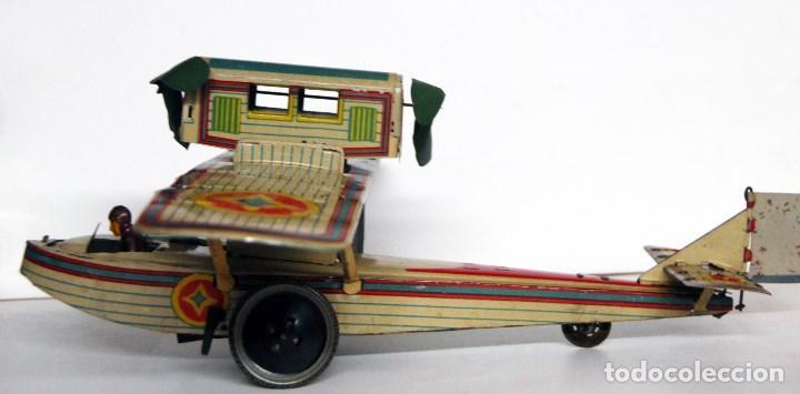 Juguetes antiguos Payá: PAYÁ Nº 916 ORIGINAL - EL AVIÓN PLUS ULTRA DE 1927 - Foto 3 - 140746402