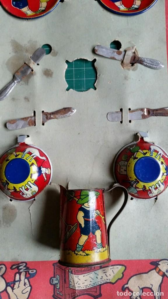 Juguetes antiguos Payá: JUEGO DE CAFÉ DE PAYA AÑOS 20 - Foto 3 - 141970814