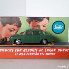 Juguetes antiguos Payá - MINICOCHE CON RESORTE DE LARGA DURACION PAYA , AUTO ESCALA , AUTO PULGA - RENAULT 8 VERDE - 142455846