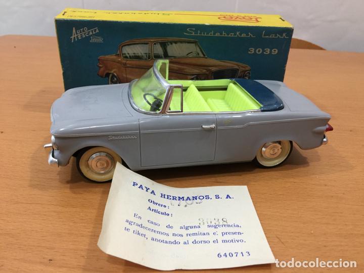 PAYA STUDEBAKER LARK DESCAPOTABLE 1960 (Juguetes - Marcas Clásicas - Payá)