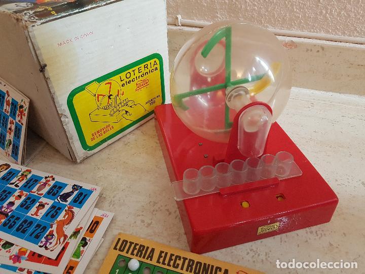 Juguetes antiguos Payá: DIFICIL JUEGO ELECTRONICO PAYA AÑOS 60 LOTERIA BINGO JUGUETE JUGUETES PAYA TARAS - Foto 2 - 144333438