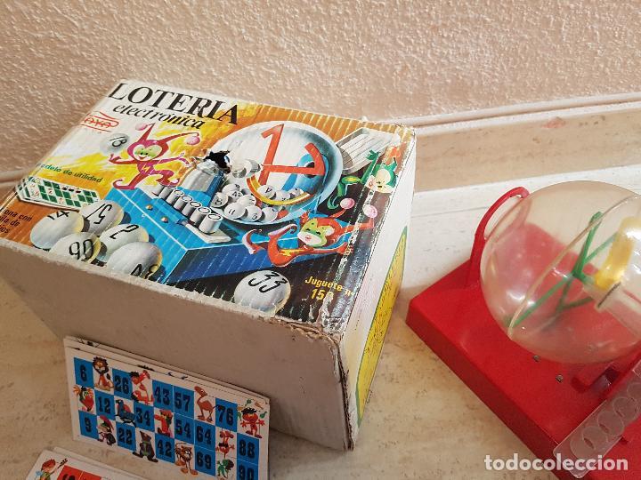Juguetes antiguos Payá: DIFICIL JUEGO ELECTRONICO PAYA AÑOS 60 LOTERIA BINGO JUGUETE JUGUETES PAYA TARAS - Foto 3 - 144333438