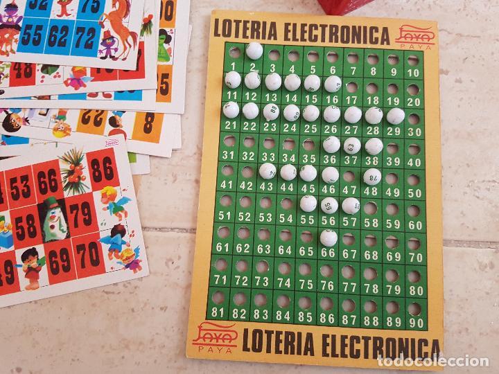 Juguetes antiguos Payá: DIFICIL JUEGO ELECTRONICO PAYA AÑOS 60 LOTERIA BINGO JUGUETE JUGUETES PAYA TARAS - Foto 4 - 144333438