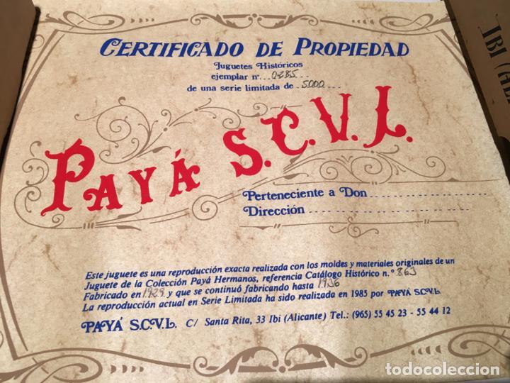 Juguetes antiguos Payá: COUPE LIMOUSINE Ref. 841 Edición Limitada y Numerada de PAYÁ del Año 1987 - Foto 9 - 147771366
