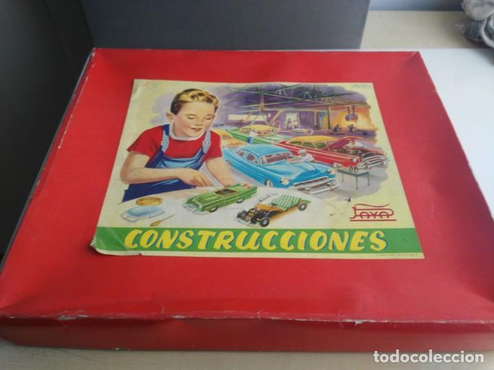 ANTIGUO JUEGO DE CONSTRUCCIONES PAYA COCHES (Juguetes - Marcas Clásicas - Payá)
