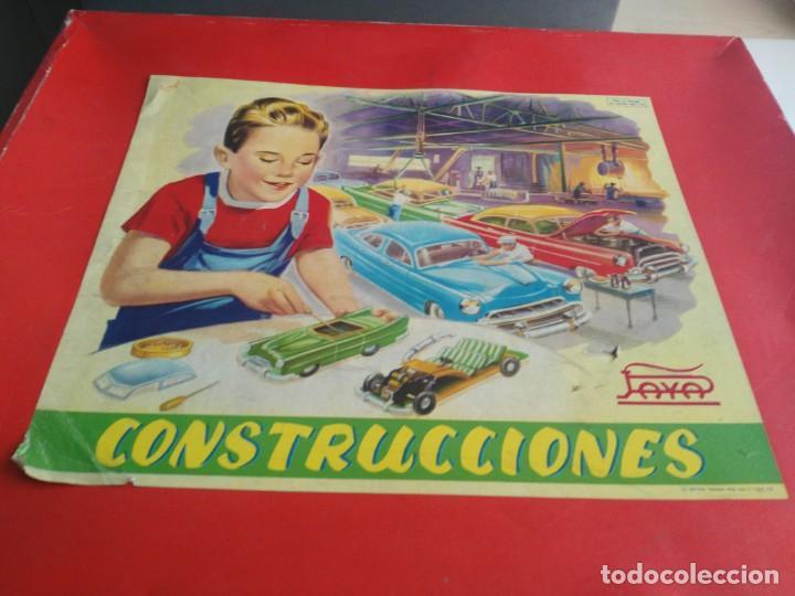 Juguetes antiguos Payá: ANTIGUO JUEGO DE CONSTRUCCIONES PAYA COCHES - Foto 2 - 147841022