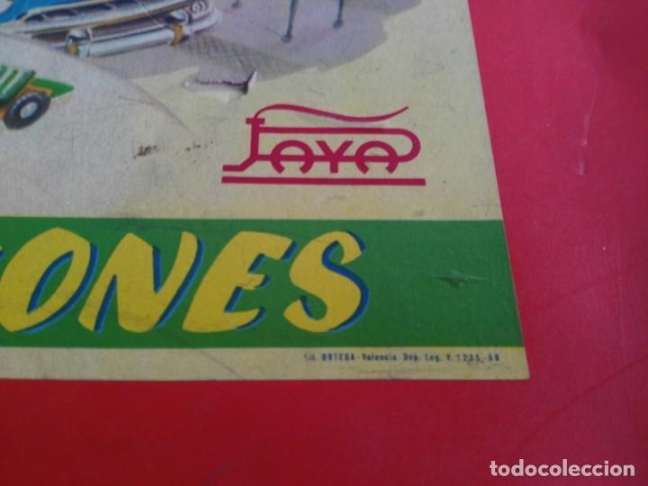 Juguetes antiguos Payá: ANTIGUO JUEGO DE CONSTRUCCIONES PAYA COCHES - Foto 7 - 147841022