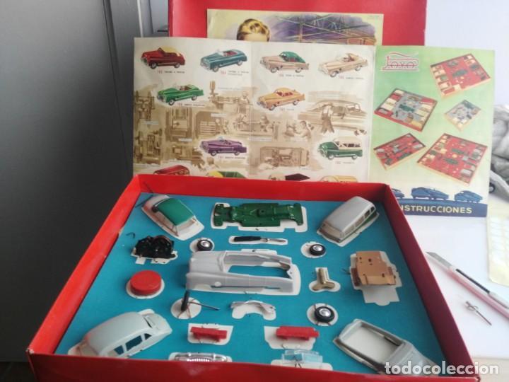 Juguetes antiguos Payá: ANTIGUO JUEGO DE CONSTRUCCIONES PAYA COCHES - Foto 8 - 147841022