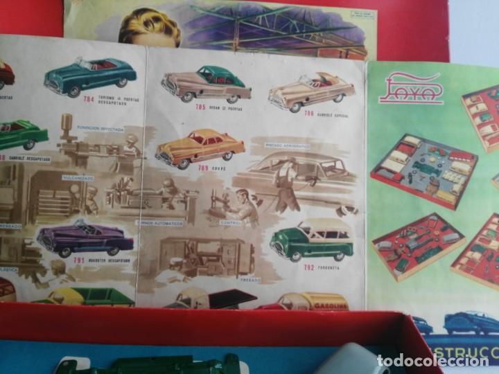 Juguetes antiguos Payá: ANTIGUO JUEGO DE CONSTRUCCIONES PAYA COCHES - Foto 9 - 147841022